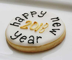 Simply Happy New Year Cookies