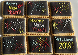 New Year Fireworks Cookies