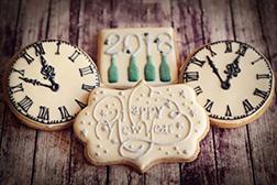 Vintage Celebration Cookies
