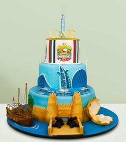UAE Through The Ages Cake