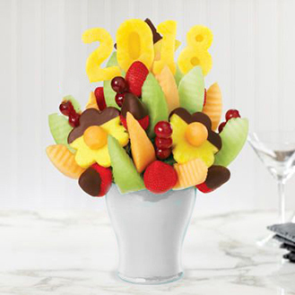 New Year Delights Fruit Bouquet