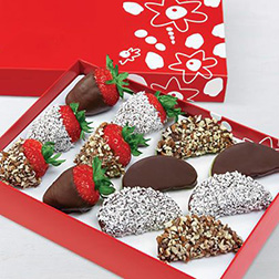 Festive Assorted Dipped Fruits