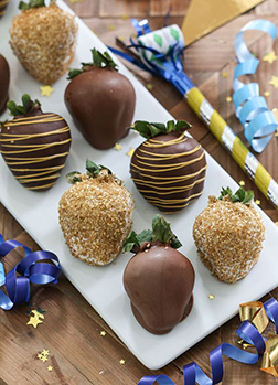 Joy At Midnight Dipped Strawberries
