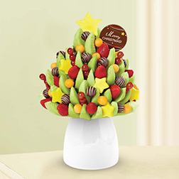 Christmas Tree Fruit Bouquet