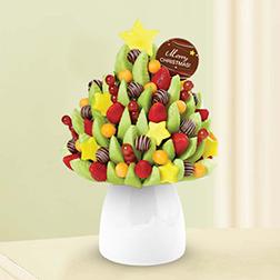 Christmas Tree Fruit Bouquet