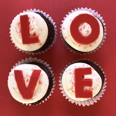 Love Letters - 6 Cupcakes