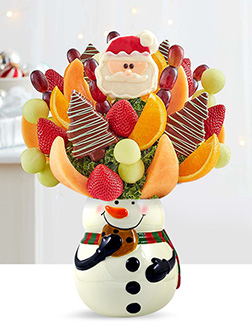 Sweetest Snowman Fruit Bouquet