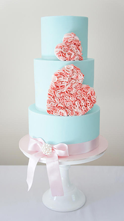 Sweetness Found Heart Cake