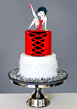 Betty Bo Peep Cake