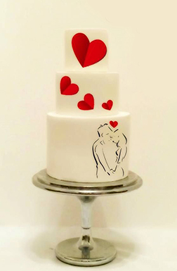 Enchanted Love Cake