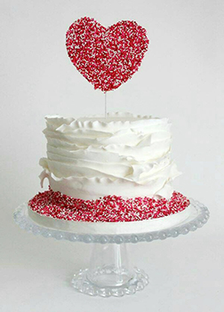 Sprinkle of Love Cake