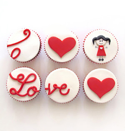 All My Love - 6 Cupcakes