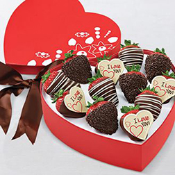 Love Notes Dipped Strawberries