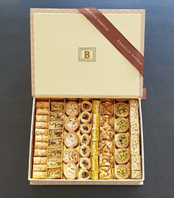 Assorted Arabic Sweets Box