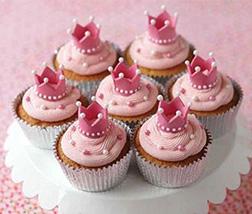 Crowning Glory Cupcakes