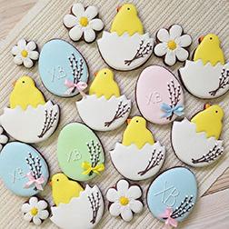 Spring Hatchlings Cookies
