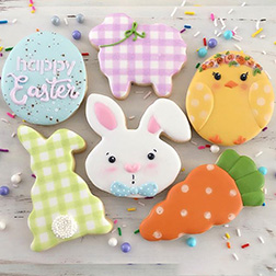 Spring Picnic Easter Cookies