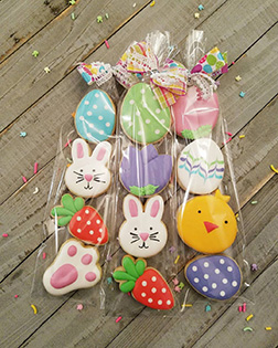 Easter Favorites Cookies