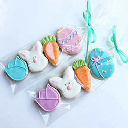 Tea Party Easter Cookies