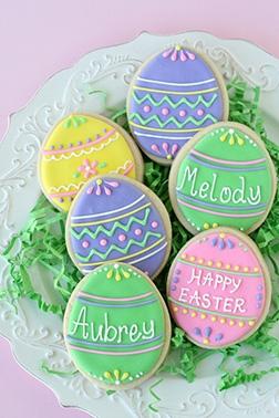 Embelished Easter Cookies