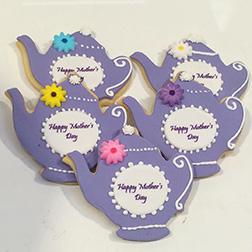Tea Pot Mother's Day Cookies