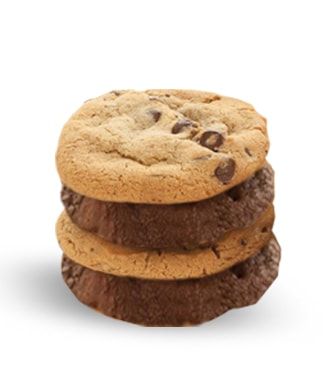 Chocolate Lover's Dream Team - 4 cookies