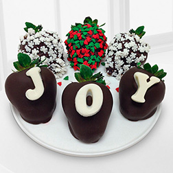 Joyful Wishes Dipped Strawberries