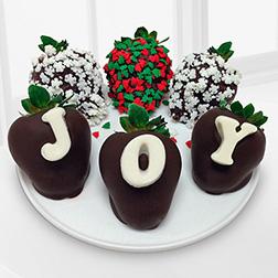 Joyful Wishes Dipped Strawberries