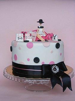 Polka Dot Designer Cake