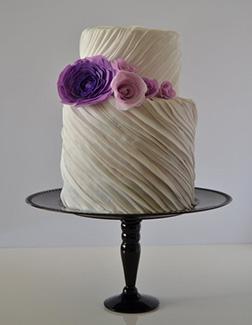 Satin Swirls Cake