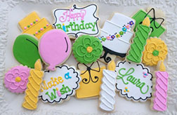 Birthday Decorations Cookies