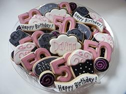 Glamorous Birthday Cookies