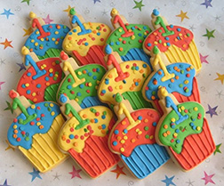 Sweet Birthday Sprinkle Cookies