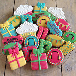 Trendy Birthday Cookies
