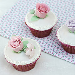 Roses For The Lady Cupcakes - One Dozen