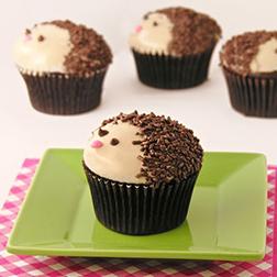 Cute Hedgehog Dozen Cupcakes