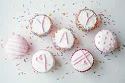 YAY Confetti Dozen Cupcakes