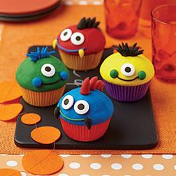 Monster Magic cupcakes