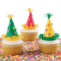 Party Hats-Off Cupcakes