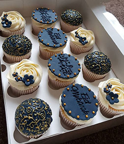 Eid Glamour Dozen Cupcakes