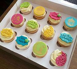 Heartfelt Wishes Dozen Eid Cupcakes