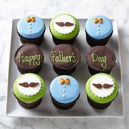 Dapper Dad Cupcakes