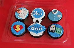 SuperDad Cupcakes