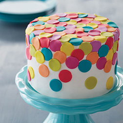 Colors of Joy Cake