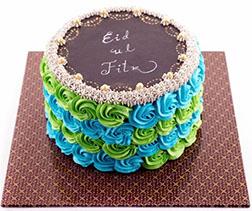 Eid Rosette Cake