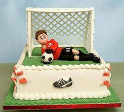 Goalkeeper Dad Cake