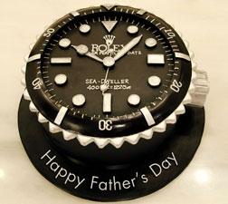 Dad's Rolex Cake