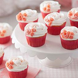 Floral Swirls Dozen Cupcakes