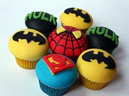 Superhero Dozen Cupcakes