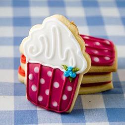 Red Velvet Cupcake Cookies